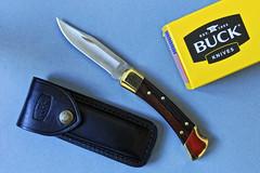 My pocket knife (photoroberto) Tags: stilllife knife sharp blade pocketknife buck110