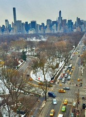 Beach to normal Central Park West (dannydalypix) Tags: nyc newyorkcity manhattan centralparkwest cenralpark