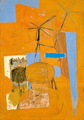 The Poet, 1947 // Robert Motherwell (mike catalonian) Tags: abstract painting us 1947 robertmotherwell