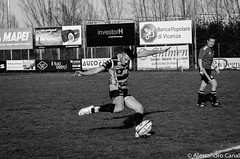 Buscema kicks at goal