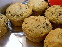 """""""Cranange"""" - Millet Muffins (yummysmellsca) Tags: food orange fruit muffins baking yum sweet egg fast delicious cranberries snack vegetarian easy eats edible crunchy millet baked craisins edibles bakingpowder glutenfree craisin wholegrain dairyfree wholegrains comestible quickbreads nutfree glutenfreebakedgoods wholegrainbaking milletmuffins glutenfreebaking healthybaking glutenfreedessert nutfreebaking glutenfreebakingbook slightlyadaptedfromtheglutenfreebakingbookbydonnawashburnandheatherbutt thesedairyfreeorangemuffinsarepepperedwithchewydriedcranberriesandcrunchymilletandtastelikesweetcitrusysunshinetheymakeamazingbiscuffinsbiscottimuffinstooespeciallydrizzledwithdarkchocolate"""