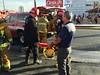 Fire Consumes Abandoned Van Nuys Motel (LAFD) Tags: lafd davidortiz investigators losangelesfiredepartment