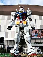 Odaiba ( Cateaclysmic ) Tags: city travel japan tokyo odaiba diver gundam 2016 2015
