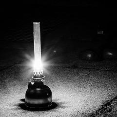Oillamp (stephanboblest) Tags: light shadow blackandwhite lamp canon licht glas ton oillamp