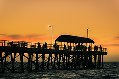 Henley Orange Cream (Nathan Godwin) Tags: ocean sunset summer seascape water pier jetty sony sunsets adelaide southaustralia oceanscape sunsetporn adelaidebeaches sunsetphotography sonyphotographer sunsetseascape adelaidephotographer sonya77 southaustralianbeaches