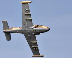 Strikemaster (Bernie Condon) Tags: plane vintage flying support aircraft aviation military attack jet preserved trainer warplane bac strikemaster