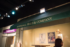 marshall fields and company and nathalie. february 2016 (timp37) Tags: winter chicago history field sign museum illinois nat marshall company nathalie fields february 2016