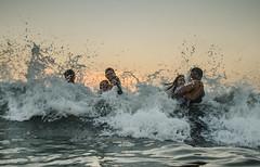 Kondivili beach (rohit_bhat10) Tags: sunset west beach coast konkan raigad