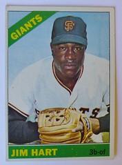 JIM HART SAN FRANCISCO GIANTS 1966 (ussiwojima) Tags: baseball 1966 card topps jimhart sanfranciscogiants