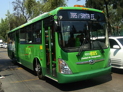 Balderas Santa Fe Ecobus1 (Metroferreo) Tags: hyundai gnc rtp ecobus reddetransportedepasajeros superaerocity balderassantafe autobusesagasnatural