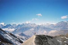 (Gabe Scalise) Tags: nepal film analog 35mm gabe annapurna scalise