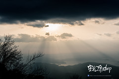 brokeback mountain u-deep poster (uwajimadeep) Tags: sunset sky panorama mountain japan clouds shikoku ehime uwajima brokeback