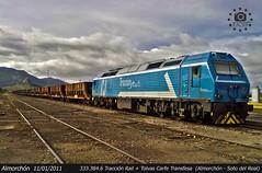 Una segunda oportunidad (Francisco Jos Calvo) Tags: del de tren rail arena badajoz cabeza estacin 520 locomotora buey ferrocarril extremadura lnea carbn tolvas carfe mercancas traccin almorchn 3333846 fjc93