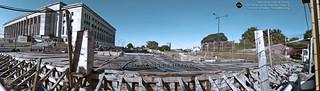 Losa de techo futura estación Facultad de Derecho / Línea H (on explore)