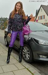 v20151127LatexWERicciIWM4428 (IchWillMehrPortale) Tags: sexy fetish skinny shiny main rubber ricci latex gummi würzburg catsuit leggings glänzend fantasticrubber ichwillmehr lateximschloss