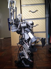 LEGO Mindstorms - Emmet's Construct-O-Mech - Bucket Side View (Reventist) Tags: robot lego technic mindstorms mecha mech emmet nxt ev3 legomovie constructomech
