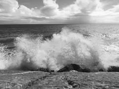 Balade dimanche 28/02/16 (karine_avec_1_k) Tags: winter sea mer storm hiver sunday dimanche tempête
