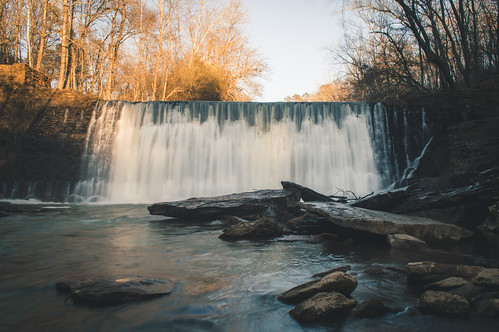 Old Roswell Mill Dam