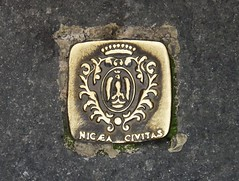 Nicaea, Civitas Fidelissima (3D-Stretch) Tags: city french nice riviera very francaise cit motto cte paca tres cote 06 trs azur faithful devise dazur alpesmaritimes civitas franaise provencealpesctedazur fidele fidle nicaea fidelissima