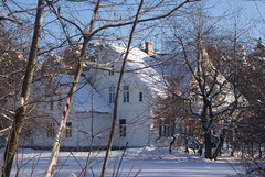 Tidligere direktørbolig til Vigeland Brug (Akbe) Tags: winter snow architecture vinter villa vennesla trehus vikeland