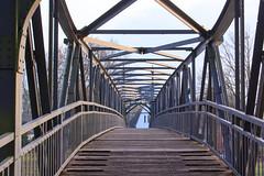 """Kanalbrücke am """"Nassen Dreieck"""" (Ralph Apeldoorn) Tags: bridge germany deutschland canal mittellandkanal kanal kanaal brug brücke nordrheinwestfalen duitsland dortmundemskanal bevergern hörstel dortmundeemskanaal"""