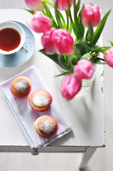 Good morning everyone ! (*steveH) Tags: morning flower cakes baking steveh