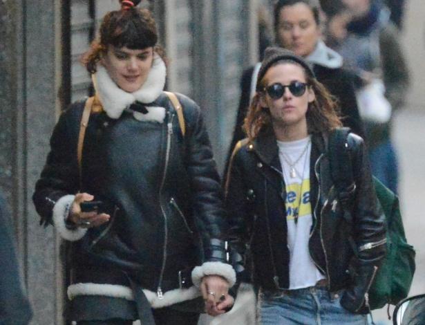 Kristen Stewart passeia de mãos dadas com suposta nova namorada
