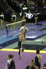 Allie Northey floor (2) (Susaluda) Tags: uw sports gold washington university purple huskies gymnastics dawgs