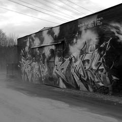 (nypan_sthlm) Tags: street bw art stockholm x100 hgdalen gatufoto