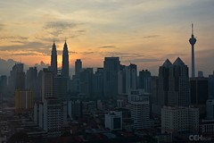 KL Skyline Sunrise