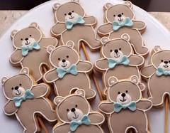 Invaso de Ursinhos gordinhos!! (Elaine Russo - Delizie! Arte com Acar) Tags: bear baby cookie urso