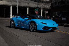 Huracan Spyder (Hunter J. G. Frim Photography) Tags: blue italian colorado convertible huracan denver spyder lamborghini supercar awd v10 lp6104 lamborghinihuracan lamborghinihuracanlp6104 lamborghinihuracanspyder lamborghinihuracanspyderlp6104