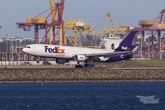 N593FE FedEx MD11F 34L YSSY-8448 (A u s s i e P o m m) Tags: australia newsouthwales fedex brightonlesands md11f