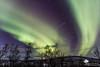L'étoile (photosenvrac) Tags: hiver neige aurore nordik motoneige boréale 2016 finlande laponie thierryduchamp
