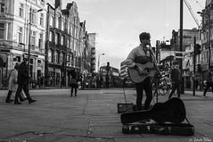 The Busker (robertopedone) Tags: london live livemusic streetphotography streetphoto busker camdentown camdenlock