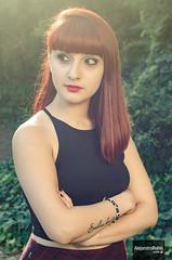 Andy (.Alejandro Rubio.) Tags: light woman sun luz argentina argentine girl sunshine 50mm buenosaires reflejo flare redhair pelirroja agronomia alerubio argenta