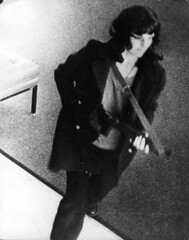Kidnap victim Patricia Hearst robbing the Hibernia Bank in San Francisco with other members of the domestic SLA terrorist group [1024  1298] 9:40 A.M. April 15, 1974 #HistoryPorn #history #retro http://ift.tt/23x7FsM (Histolines) Tags: history 1974 other am san francisco with victim group terrorist bank 15 retro domestic april timeline patricia hearst hibernia members kidnap 1024 sla  robbing vinatage 940 1298 historyporn histolines httpifttt23x7fsm