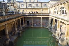 Termas romanas en Bath.  IMGP6116 (Rafael Jimnez) Tags: bath bathengland bathinglaterra termas imperioromano