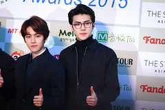 160217 - Gaon Chart Kpop Awards (75) ( ) Tags: awards exo gaon musicawards 160217 exosehun sehun ohsehun gaonchartkpopawards