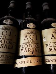 The reserve (Veronicamente) Tags: bottle italia wine sicilia vino bottiglie cantine marsala