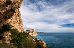 [ #94 :: 2016 ] (Salva Mira) Tags: cliffs salva acantilados pasvalenci xbia marinaalta lamarina acantilats benitatxell calamoraig salvamira salvadormira calallebeig