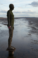 Another Place | Antony Gormley | Crosby-2 (Paul Dykes) Tags: sculpture statue shoreline estuary antonygormley merseyside anotherplace rivermersey