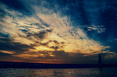 This is something else (Melissa Maples) Tags: sunset water silhouette turkey evening nikon asia sundown dusk trkiye istanbul nikkor strait bosphorus vr afs  18200mm  f3556g  18200mmf3556g d5100