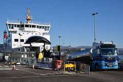 MV Argyle at Gourock (Russardo) Tags: ferry scotland clyde mac lorry cal argyle calmac gourock tanker mv caledonian macbrayne