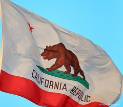 Republic of California (dpsager) Tags: california pacific sandiego flag sunsetcliffs dpsagerphotography