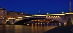 Pont de la Tournelle Paris (letang.gilles) Tags: paris france seine night pose de la long exposure ile pont capitale nuit ville immeuble batiment fleuve balade parisienne thebluehour tournelle longue canon100d