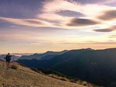 I'm Home (ma vie en rouge) Tags: newzealand backpacking scree marlborough lenticularcloud bloodymary thruhike ashleyhill teararoa mountrichmondforestpark hyperlitemountaingear
