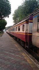 Thailand Railway (katushang) Tags: travel sunset color tourism train thailand colorful samsung rail railway tourist thai leisure  android   collor  totallythailand samaunggalaxynote3