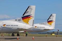 West Atlantic BAe ATP's at Isle of Man EGNS 27/04/16 (IOM Aviation Photography) Tags: man west atlantic bae isle atps egns 270416