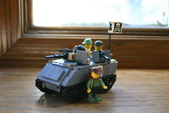 M113 ACAV (ModernBrix) Tags: usa brick 1955 google war flickr tank lego vietnam american legos 1975 modified build apc citizen 145 moc m60 m113 brickarms acav modernbrix